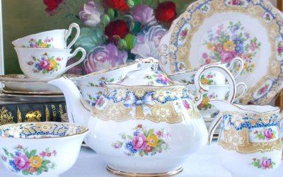 An Afternoon Tea Featuring Royal Albert Valentine